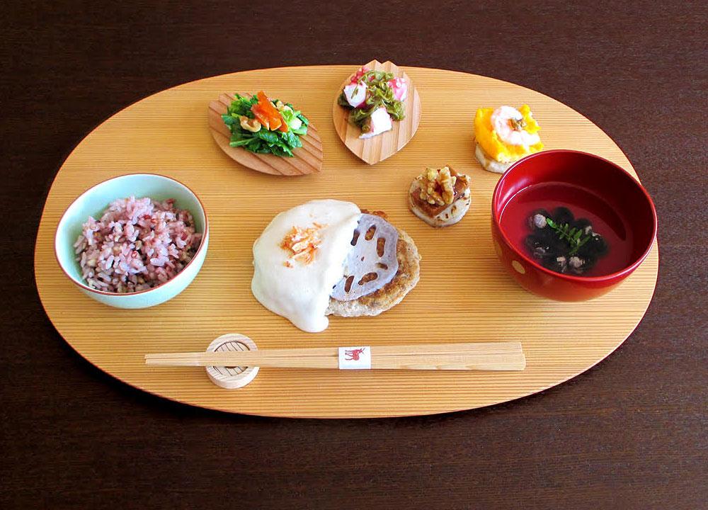 『あおによし奈良の都のワンプレートランチ』
