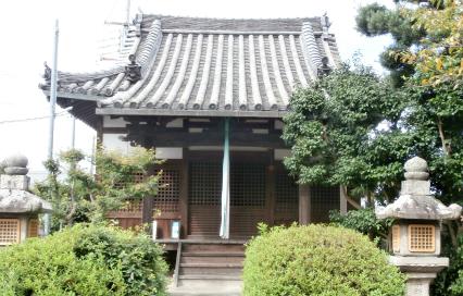 「千萬院」:田原本町